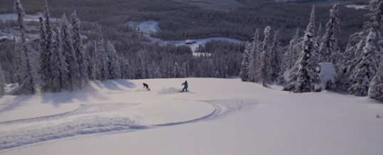 Big White In January